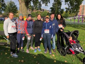 LocknCharge Team at Running For Her event